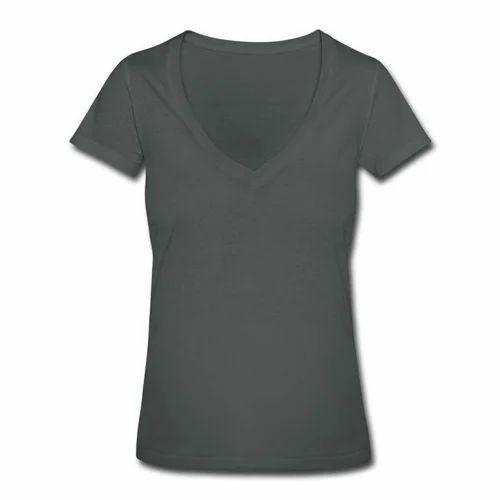ca058e436 Womens V Neck T-Shirt at Rs 145  piece