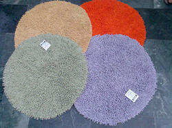 Cotton Circular Bath Mat