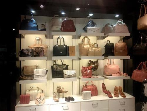 Shoes Bags Display Racks Footwear Rack Exporter From Faridabad