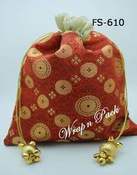Brocade Potli with Tassels