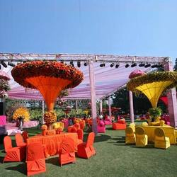 Modern Outdoor Wedding Decorations