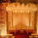 木制婚礼Mandap