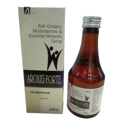 Anti-Oxidant Multivitamins & Essential Minerals Syrup