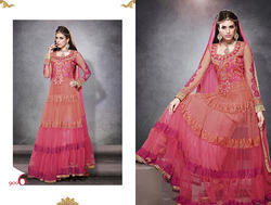 Chiffon Designer Anarkali Suits