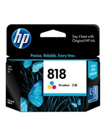 HP 818 Tri Colour Ink Cartridge