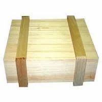 Brown Edible & Non-Edible Pinewood Box, For Shipping, Box Capacity: 1-200 Kg