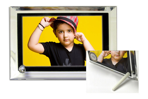 Square Sublimation Crystal Frames at Rs 500 /piece   Crystal Photo ...