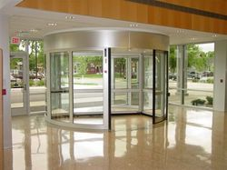 Automatic Curved Door