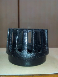 Black M.S. Submersible Jali (Cap), Size: 2 To 3 Inch