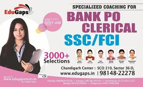 SBI Clerk Coaching, Bank Exam Training - Edugaps Coaching