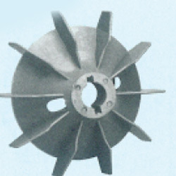 Plastic Fan Suitable For Siemens/BharatBijlee 112 Frame Size