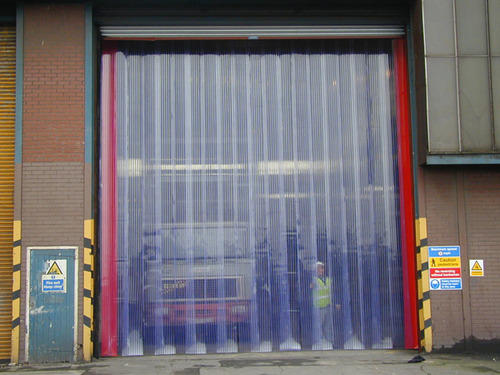 High Quality PVC Curtain/ Strip With Hanger SS And MS Powder Quoted