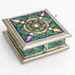 Peacock Meena Box
