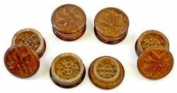 Wooden Tobacco Grinders