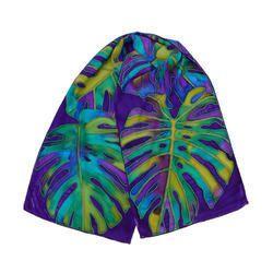 Hand Painted Silk Scarves - Hathon Se Paint Kiye Huye Reshmi Scarf Latest  Price, Manufacturers   Suppliers 0d566022df3