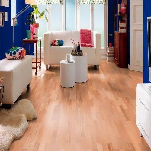 Eurowood Light Brown Beech Engineered Wood Flooring Rs 300 Square