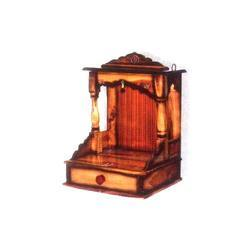 Modern Wooden Temple