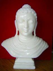 Marble Buddha Bust