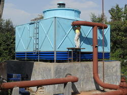 Single Cell FRP Cooling Tower