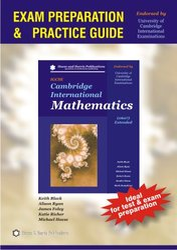 Cambridge IGCSE International Mathematics Practice Guide