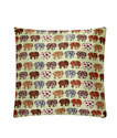 Bombay Project Cushions Wild Elephant Green 16 x 16 in
