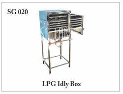 Semi-Automatic Stainless Steel LPG Idly Maker, for Hotel, Capacity: Standard