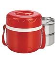 Priya Red And Green Lunch Box, Capacity: 500 Ml
