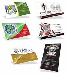 Multi Color Digital Visiting Card Printing