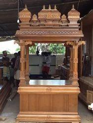 Wooden Pooja Mandapam