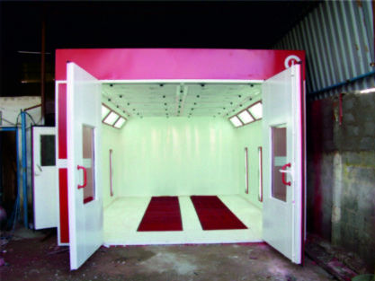 Painting Equipment & Tools - Paint Booth Manufacturer from Mumbai