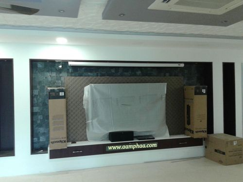 Home Theatre Wall Designs