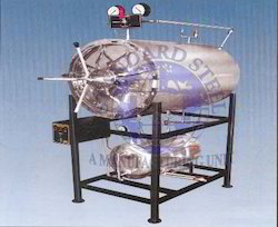 20-25 Litre 130 Degree C Standard Steel Hospital Autoclave Horizontal