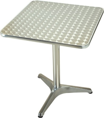 Wicker Hub Aluminum Table
