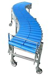 Flexible Expandable Gravity Roller Conveyors