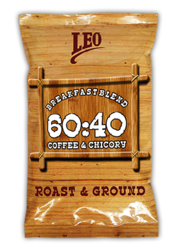 Breakfast Blend - Chicory Mixed Filter Coffee (60:40)
