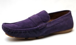 Suede Leather Driving Shoe