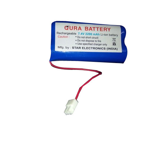 Handheld 7.4V Lithium Battery