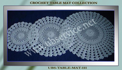 Cotton Crochet Table Mat Collection