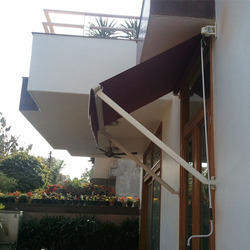 Drop Arm Awning