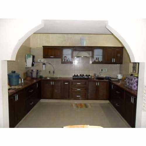 U Shaped Modular Kitchen Manufacturer