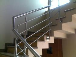 Stainless Steel Polished Staircase Hand Railing