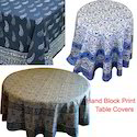 Hand Block Print Table Covers