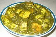 Palak Panner (Green Gravy)