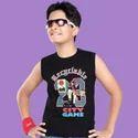 Kids T Shirt - Printed - Sleeveless