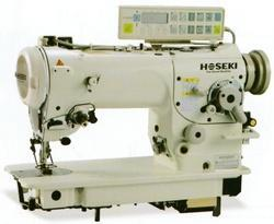 High Speed Single Needle ZigZag Sewing Machine With Auto-Tri
