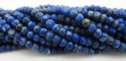 Natural Lapis Lazuli Rondelle Faceted Strings