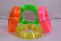 pvc color transparent pipe