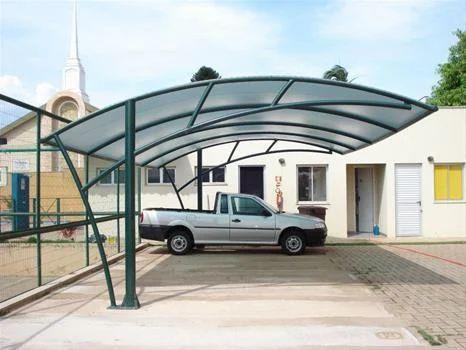 Car Parking Roofing Shed | Om Sakthi Engineering ...