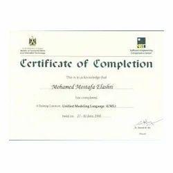 Certificate Printing Design Service