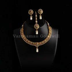 Wedding Golden Stylish Bollywood Designer Jewellery